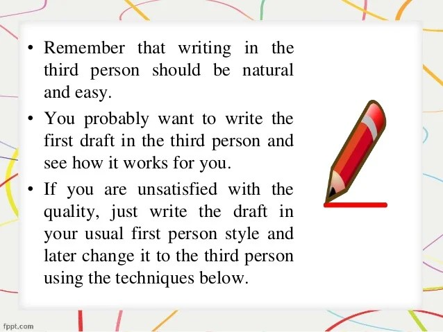 First Person Essay Example Hospi Noiseworks Co