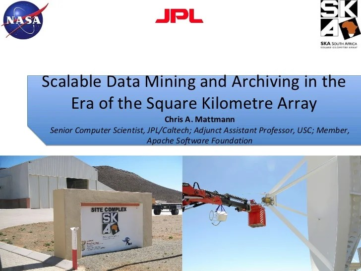 Scalable Data Mining And Archiving In The Era Of The Square Kilometre