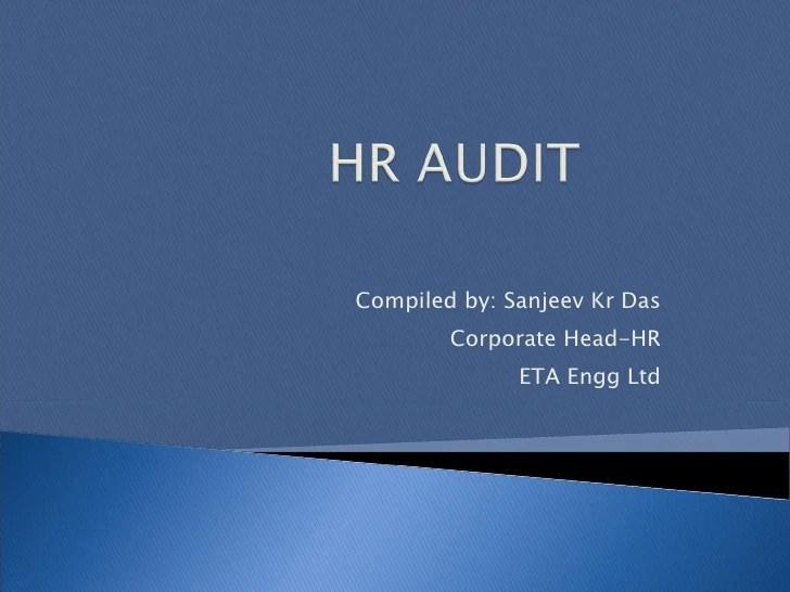 Hr Audit Presentation