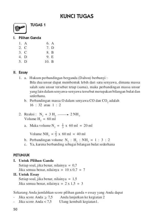 Hukum Dalton Adalah : hukum, dalton, adalah, Hukum, Dasar, Kimia, Perhitungan