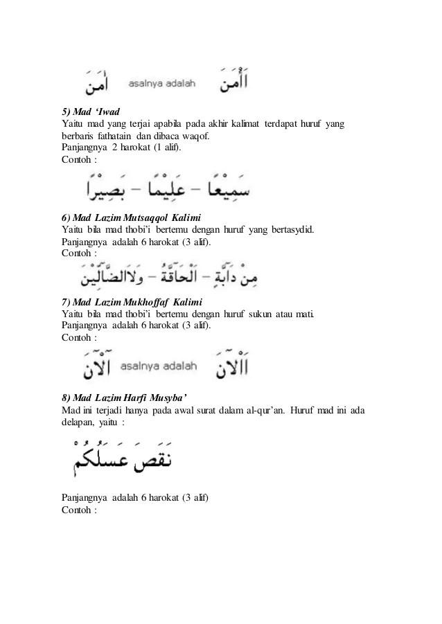 Contoh Mad Iwad Beserta Suratnya : contoh, beserta, suratnya, Contoh, Dalam, Quran, Beserta, Suratnya, Barisan