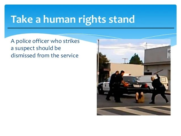 Human rights in police investigations