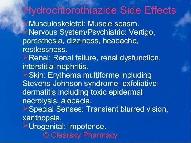 Hydrazide (Hydrochlorothiazide Tablets)