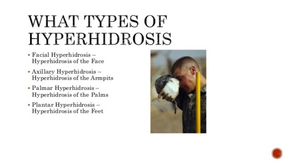 Image result for hyperhidrosis face