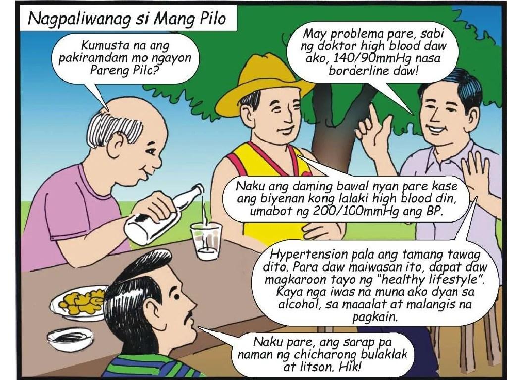 Hypertension Komiks Tagalog
