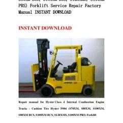 Hyster Forklift Wiring Diagram 2004 Gmc Sierra Radio S120xms Great Installation Of F004 S70 Xm S80xm S100xm Bcs S Rh Slideshare Net Engine 50