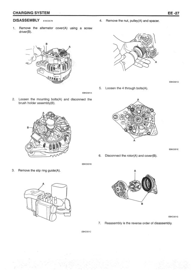Brush Alternator Wiring Diagram | Hyundai Alternator Wiring Diagram |  | Wiring Diagram