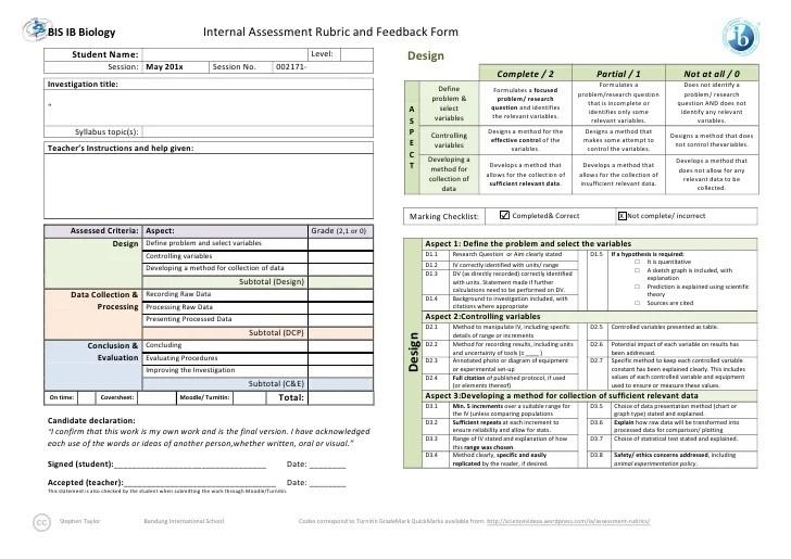 Criteria for ib chemistry lab reports - essaylounge.x.fc2.com
