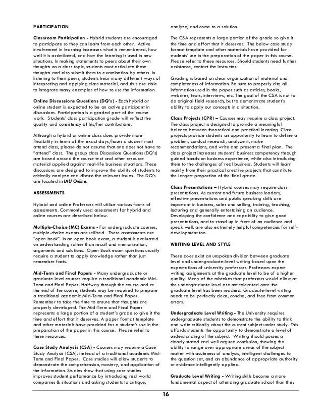 International American University Catalogue