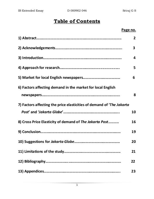 Essay Table Of Contents Research Essay Can I Pay Someone To Write My