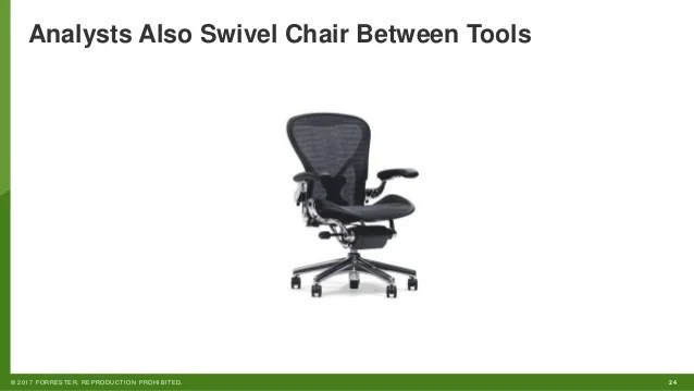 swivel chair operations leather arm how to improve threat detection simplify security analysts also between tools