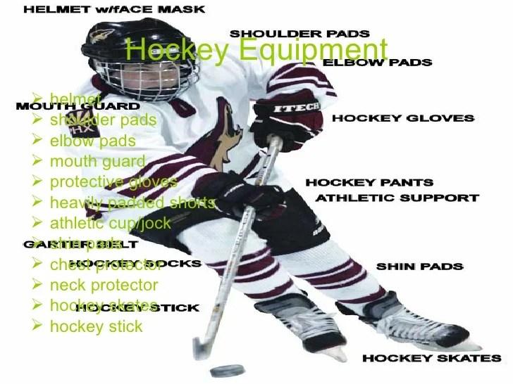 hockey player diagram vectra c wiring ice equipment