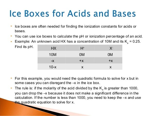 ice also chemistry box equilibrium problems rh slideshare