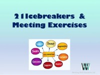 My Top 21 Icebreakers and Meeting exercises