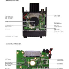 Amplifier Wiring Diagram 2003 Gmc Envoy Stereo Icom 2200 H Service Manual