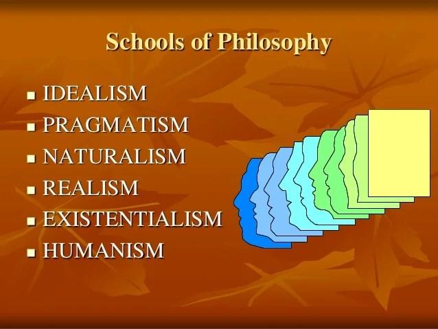 Idealism on education