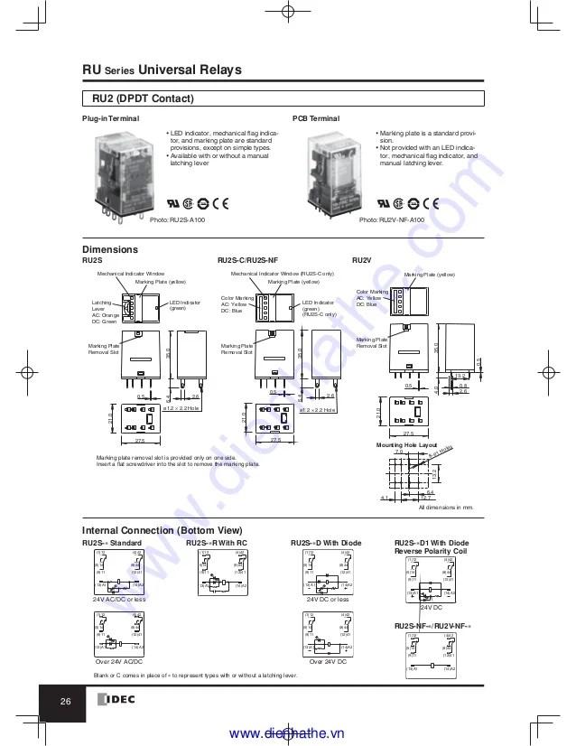 wiring diagram relay harbor breeze fan light rh2b u idec diagramidec ry4s manual e booksidec