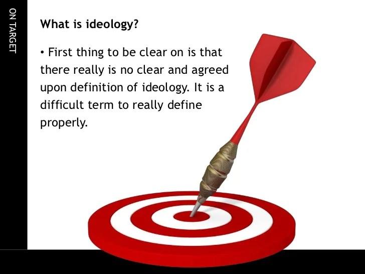 Ideologies  an introduction