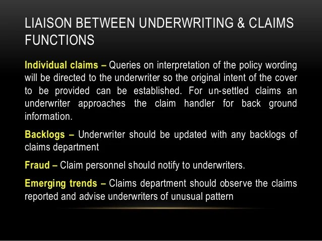 Ch 4 underwriting policy and practice