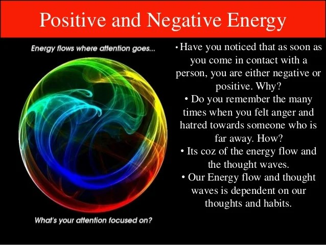 If U Don'T Want To Be Ill - Be Positive