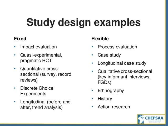 Experimental Design Examples Hospi Noiseworks Co