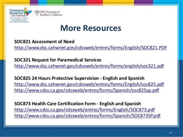 also webinar in home supportive services ihss for people with intellect  rh slideshare