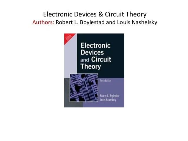 Dr Sanjay Sharma Electronic Devices And Circuits