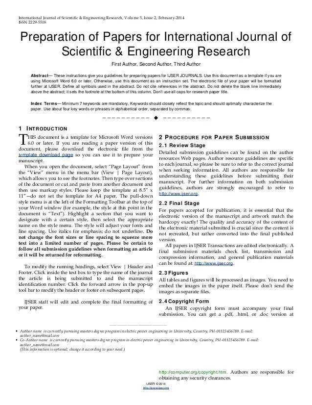 scientific research paper example pdf