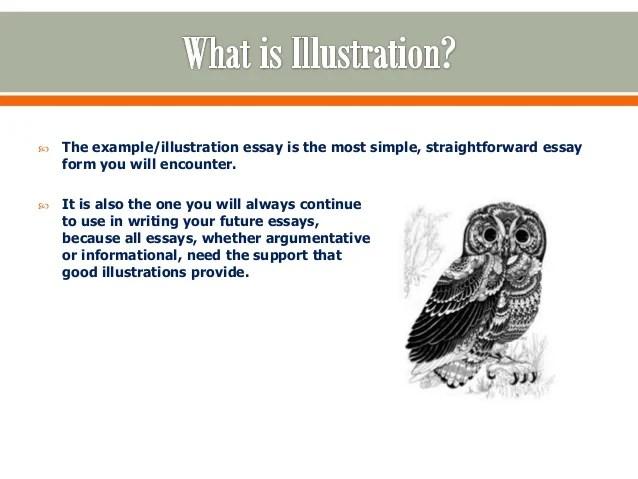 Illustrative essays