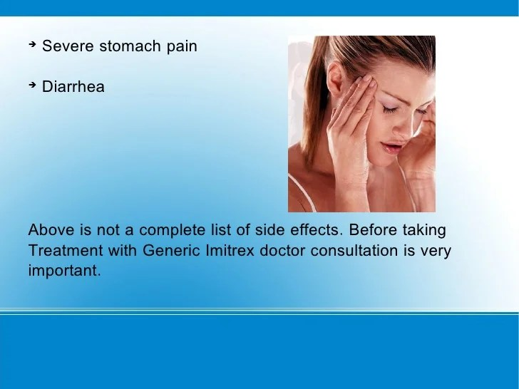 Generic Imitrex for Migraine Headache