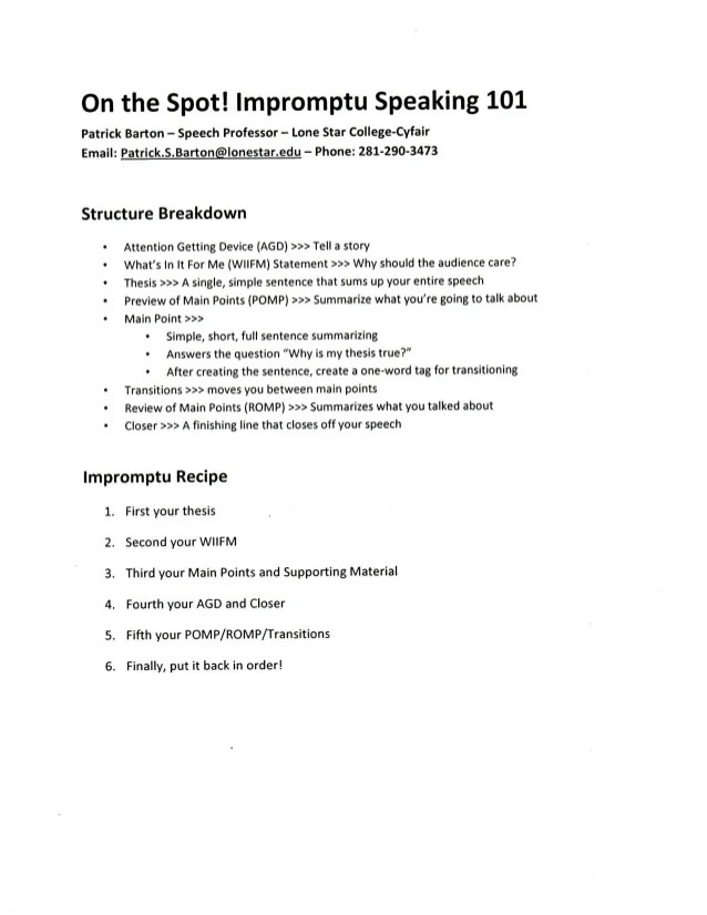 ? Speaking outline example. Speech Outline Examples. 2019-02-21