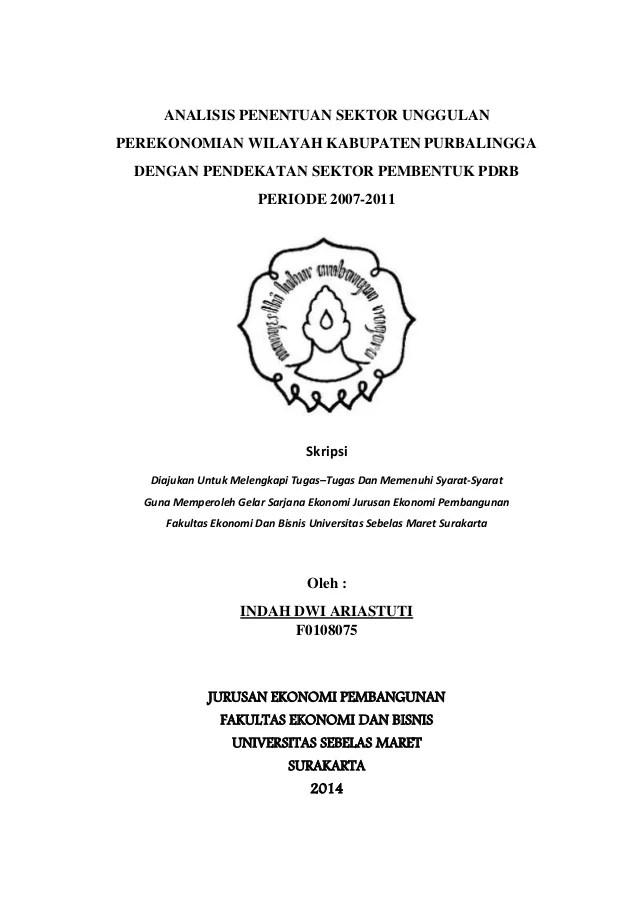 Contoh Skripsi Ekonomi Pembangunan Di Bidang Pertanian Pejuang Skripsi Cute766