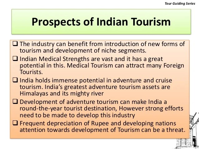 future of tourism in india