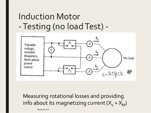 Three Phase Induction Motor Circuit Diagram