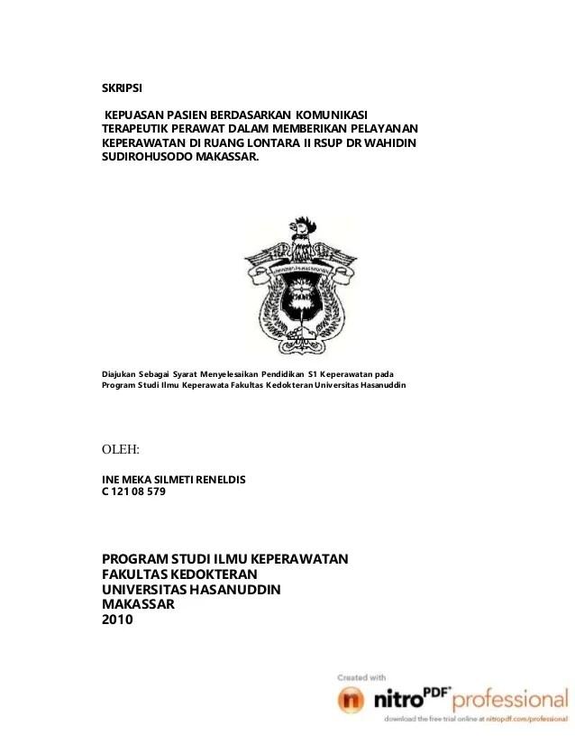 Contoh Skripsi Kuantitatif Ilmu Pemerintahan Cute766