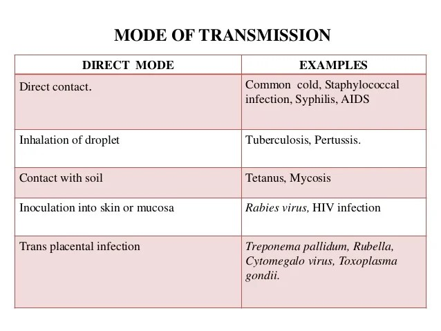 Infection and bacterial virulence factors