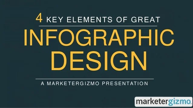 4 Key Elements Of Great Infographic Design