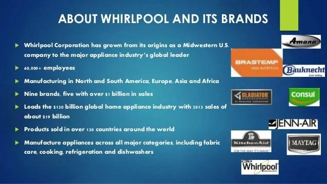 also innovation at whirlpool rh slideshare