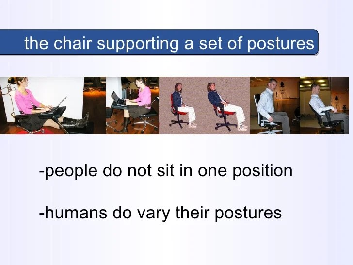 correct posture lounge chair emco navy the ideal comfort peter vink research science seat c 10
