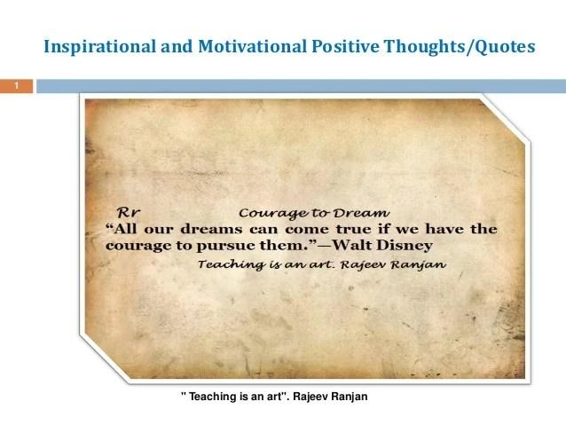 Inspirational Motivational Positive Life Quotes