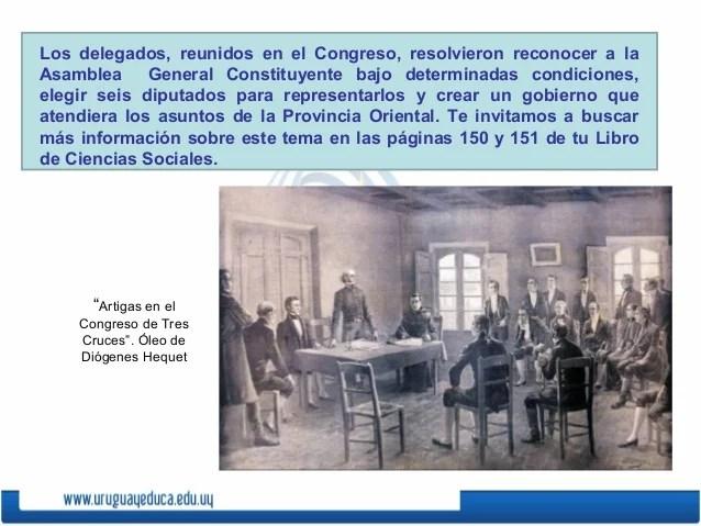 Los delegados, reunidos en el Congreso, resolvieron reconocer a laAsamblea General Constituyente bajo determinadas condici...