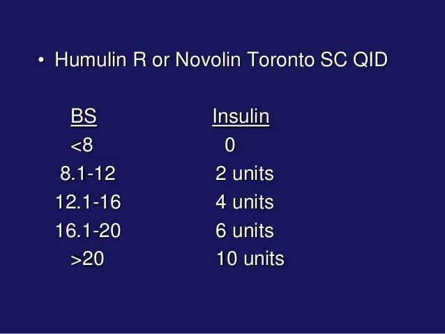 Sliding scale insulin also abbotsford rh slideshare