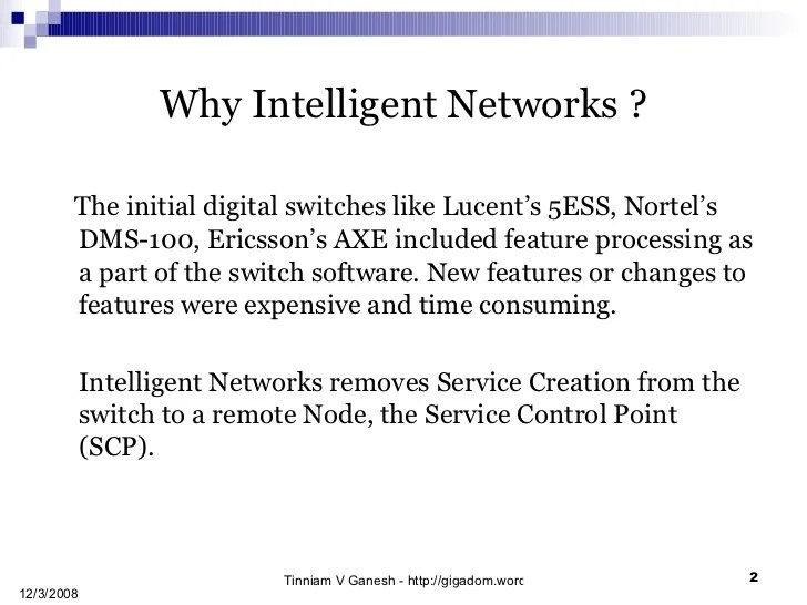 Intelligent Networks Camel Services And Applications V1
