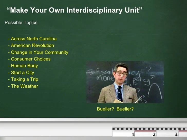 Interdisciplinary Unit Pp