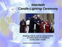 Interfaith Candle Lighting Ceremonies