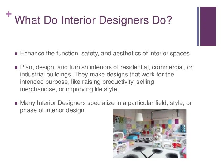 Interior Designer Oral Presentation