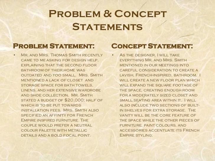 Interior Design Concept Statement Ideas | Ideasidea