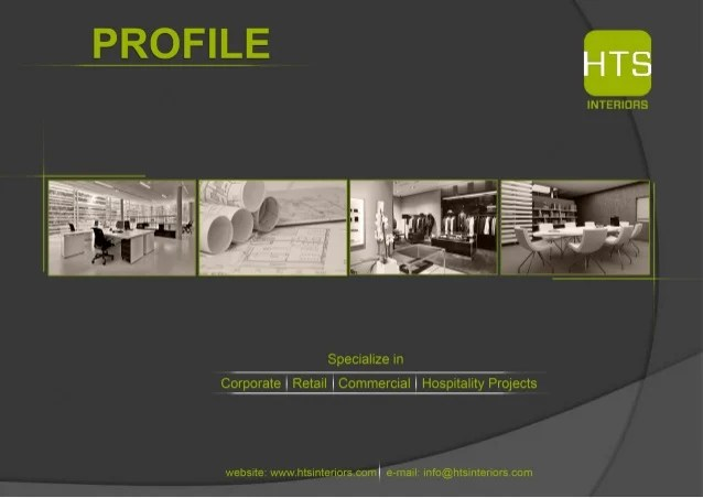 Designer Profile Sample Gallery Of Interior Design U Fit Out