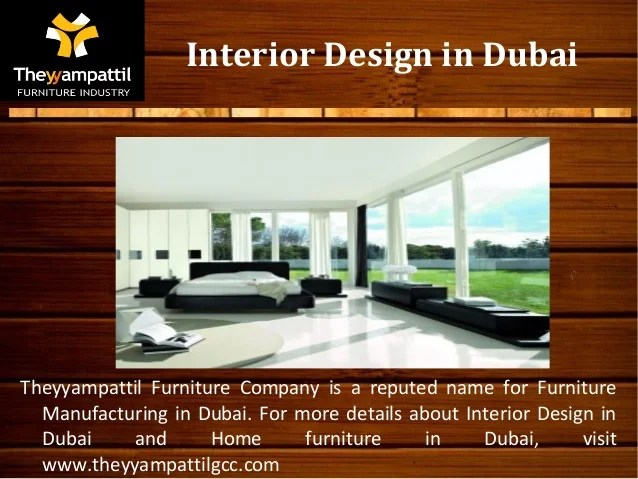 Interior Design Company Names In Dubai