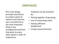 Top 28+ - Definition Of Emphasis In Interior Design - 79 ...